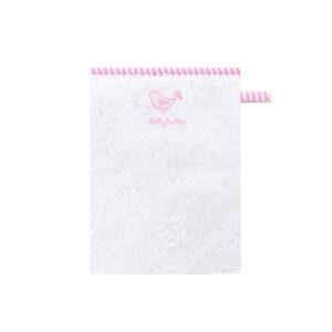 Bellybutton Waschhandschuh whiterose
