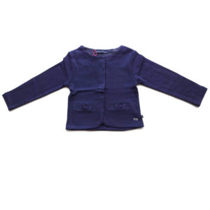 Week-end a la mer Sweatjacke Lily navy
