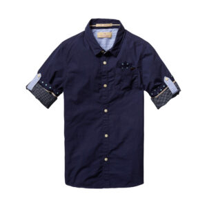 Scotch & Soda Hemd kurzarm marine boys