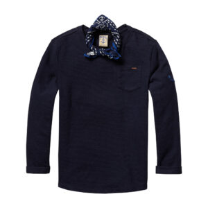 Scotch & Soda Langarmshirt Marine