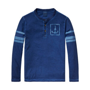 Scotch & Soda Langarmshirt blau boys