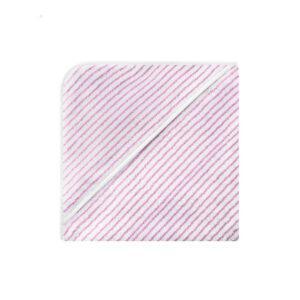 Bellybutton KapuzenhandtuchGeringelt rosa weiß