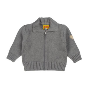 Steiff Strickjacke Basic grau