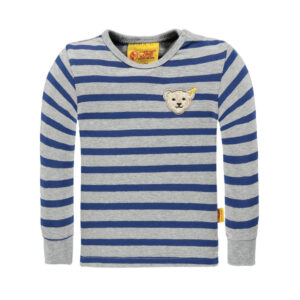 steiff-langarmshirt-blau-grau-geringelt-blue-zone