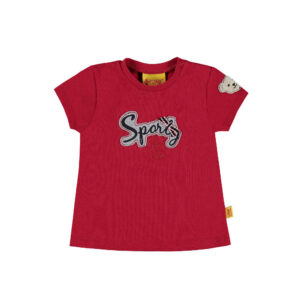 steiff-t-shirt-sporty-girl-rot