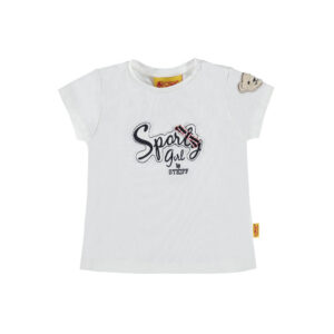 steiff-t-shirt-weiss-sporty-girl