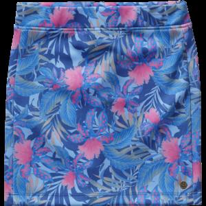 SS17KGN52003_Qira_SS17_GIRLS_Skirts_Midi Skirt_Regular_Multicolor Blue_FRONT