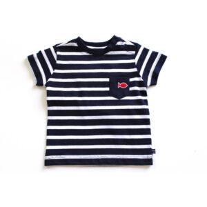 Week-end à la Mer T-Shirt cadichon navy weiss geringelt