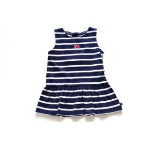 Week-end a la Mer Kleid Basic geringelt
