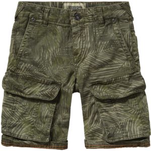 SS17KBN46007_Rou_SS17_BOYS_Pants & Jeans_Short_Regular_Army Green_FRONT