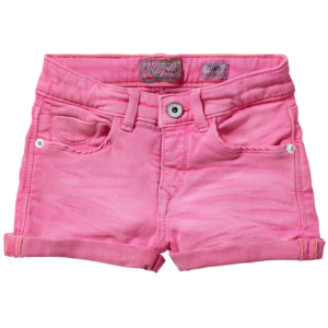 SS17KGD46005_Delina_SS17_GIRLS_Pants & Jeans_Short_Slim_Soft Neon Pink_FRONT