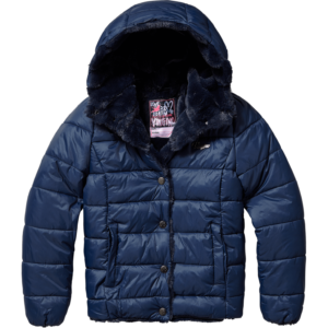 AW17KGN10003_Tamissa_AW17_GIRLS_Jackets_Jacket outdoor_Hooded_Dark Blue_BACK (1)