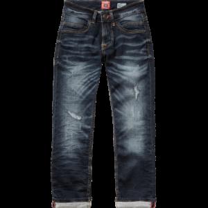 AW17KBD42019_Benando_AW17_BOYS_Pants & Jeans_Jeans_Regular_Cruziale Blue_FRONT