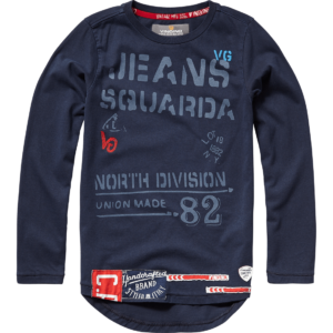 AW17KBN30004_Jelson_AW17_BOYS_T-shirts_T-shirt_Long Sleeve_Dark Blue_FRONT