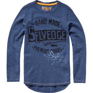 AW17KBN36013_Justo_AW17_BOYS_T-shirts_Top_Long Sleeve_Dark Blue_FRONT