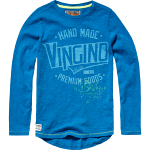 AW17KBN36013_Justo_AW17_BOYS_T-shirts_Top_Long Sleeve_Skyfull Blue_Front