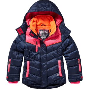 AW17KGN10004_Talina_AW17_GIRLS_Jackets_Jacket outdoor_Comfort_Dark Blue_Front