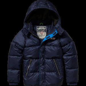 AW17KBN10014_Teejay_AW17_BOYS_Jackets_Jacket Outdoor_Comfort_Dark Blue_FRONT