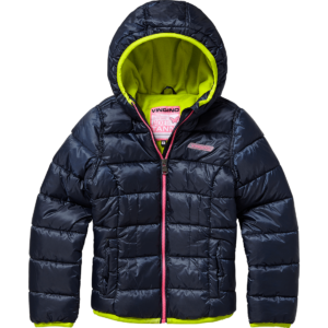 AW17KGN10008_Tanni_AW17_GIRLS_Jackets_Jacket outdoor_Hooded_Dark Blue_FRONT