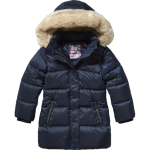 AW17KGN10013_Tyrone_AW17_GIRLS_Jackets_Jacket Outdoor_Hooded_Dark Blue_FRONT
