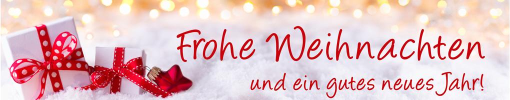 Frohe Weihnachten und ein gutes neues Jahr! Grußkarte, Weihnach